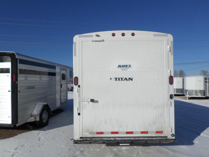 2016 Titan Trailers Avalanche 1 4 Horse Trailer