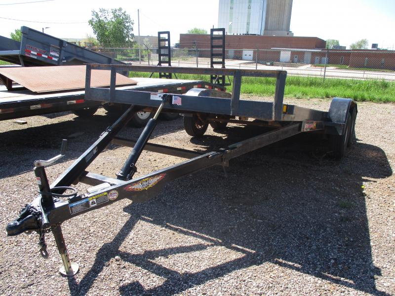 2015 H and H Trailer Flatbed Trailer 82 X 20