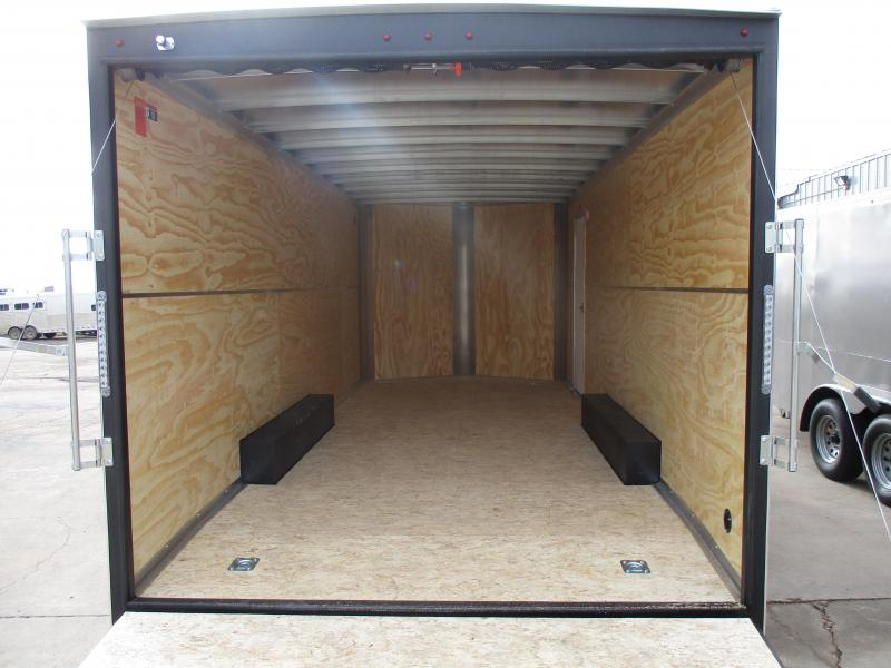 2019 H and H Trailer Cargo Enclosed Cargo Trailer 8.5 X 20