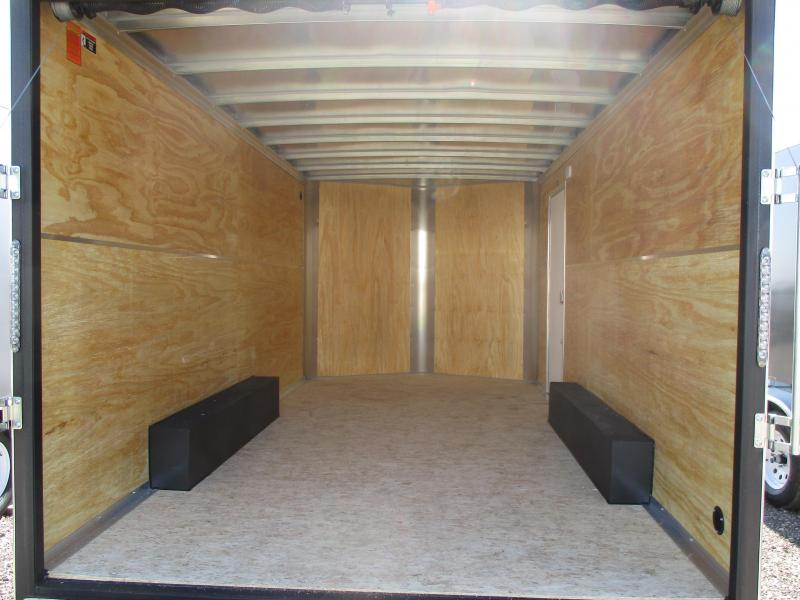 2018 H and H Trailer Cargo Enclosed Cargo Trailer 101 X 16