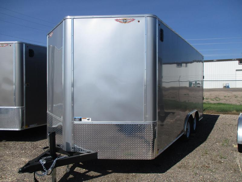 2018 H and H Trailer Cargo Enclosed Cargo Trailer 101 X 16