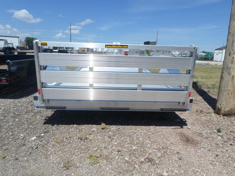2017 H and H Trailer LSA 7814 Utility Trailer