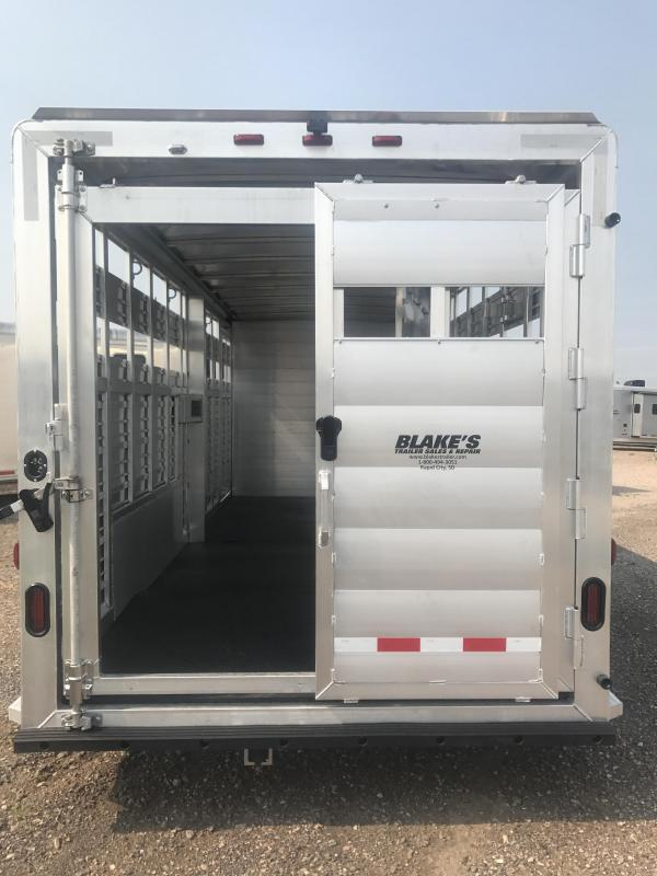 2018 Twister Stock Combo Livestock Trailer 7X24