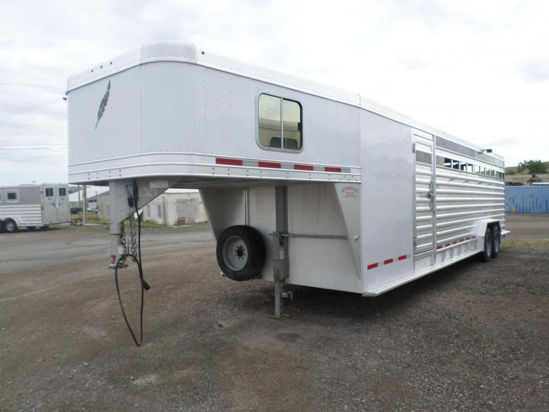 2012 Featherlite Stock Combo Livestock Trailer