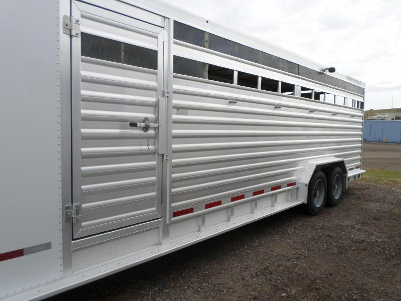 2012 Featherlite Stock Combo Livestock Trailer