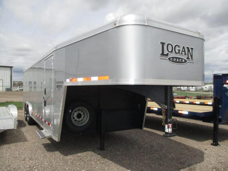 2018 Logan Coach Contractor Enclosed Cargo Trailer