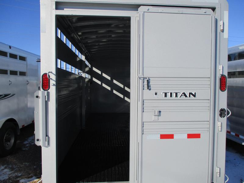2018 Titan Trailers Standard Stock Combo Trailer 7 X 24