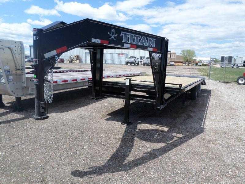 2017 Titan Trailers Flatbed Flatbed Trailer