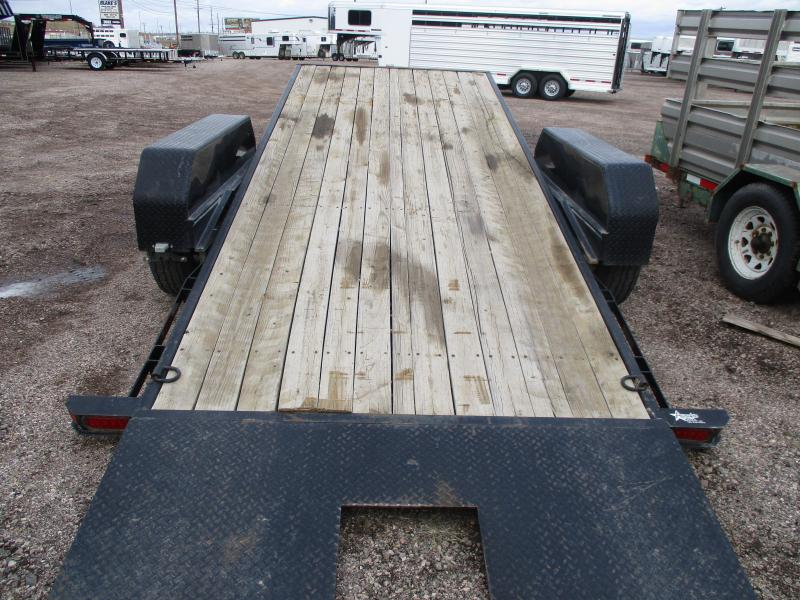 2012 Sure-Trac Tilt Bed Flatbed Trailer 82 X 16