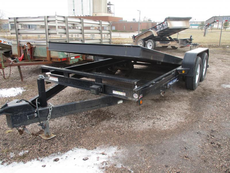 2012 Sure-Trac Tilt Bed Flatbed Trailer 82 X 16