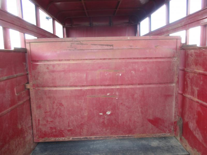 2017 Homemade Stock Livestock Trailer
