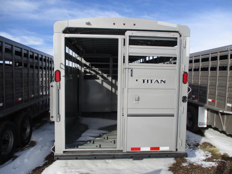 2019 Titan Trailers Classic Livestock Trailer 7 X 24