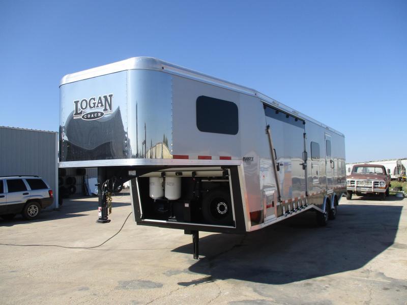 2019 Logan Coach Horsepower Enclosed Cargo Trailer