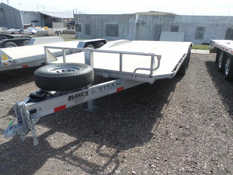 2019 Titan Trailers Flatbed Flatbed Trailer 8'6 X 20