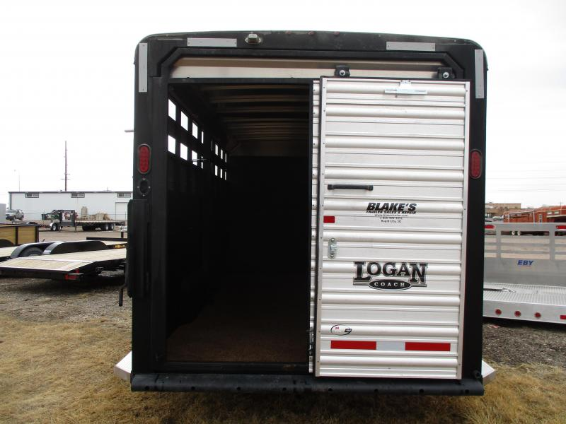 2016 Logan Coach Stock Combo Livestock Trailer 7 X20