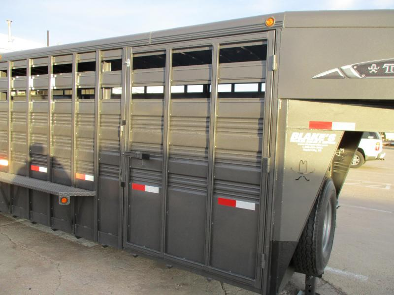 2019 Titan Trailers Standard stock Livestock Trailer 7 X 24