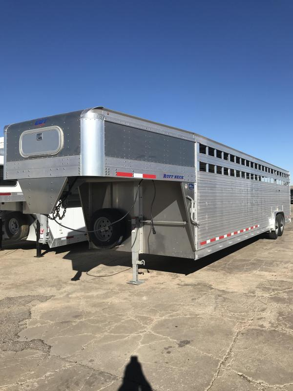 2018 Eby Trailers Roughneck Livestock Trailer 8 X 32