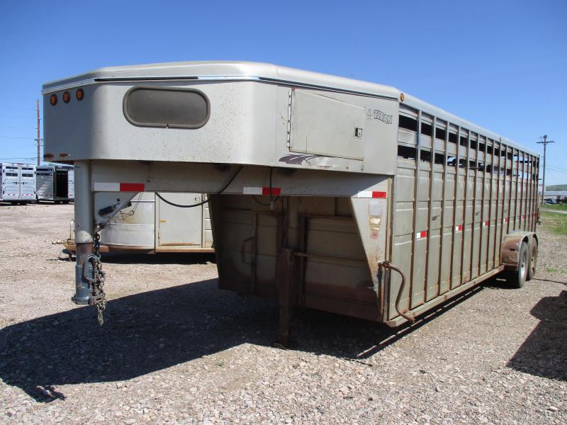 2000 Titan Trailers Stock Livestock Trailer 7 X 24