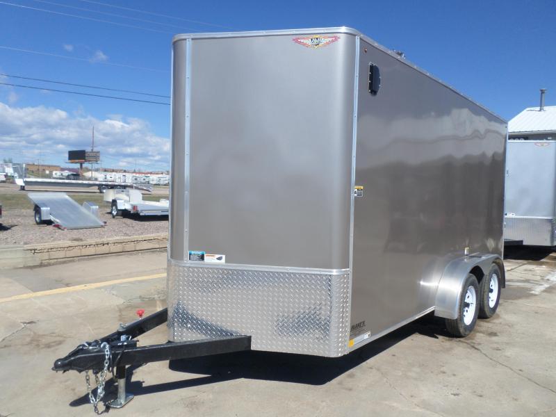 2019 H and H Trailer Cargo Enclosed Cargo Trailer 7 X 14