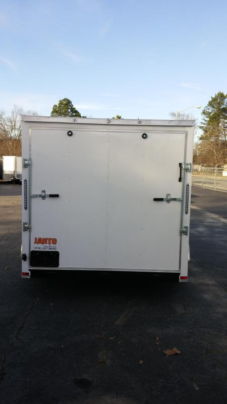 "7 X 16 TA Motorcycle Trailer  6'9"" Interior Hgt"