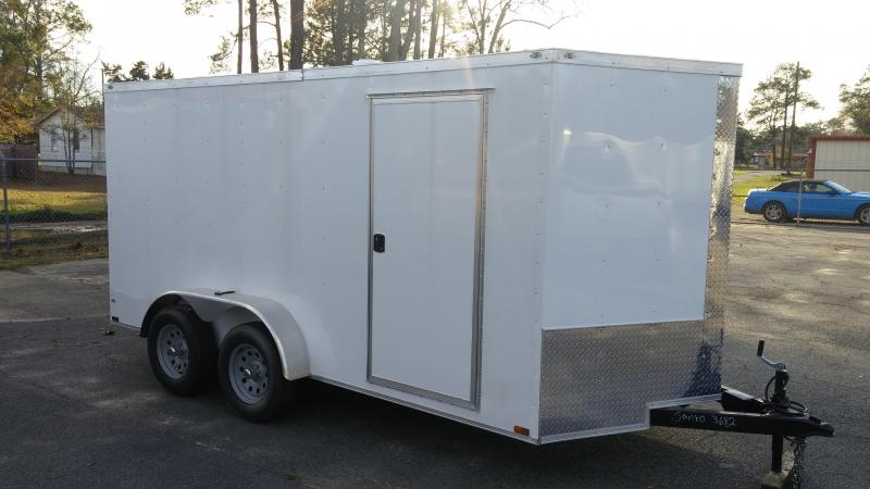 "7 X 16 TA Motorcycle Trailer  6'9"" Interior Hgt in Rhine, GA"
