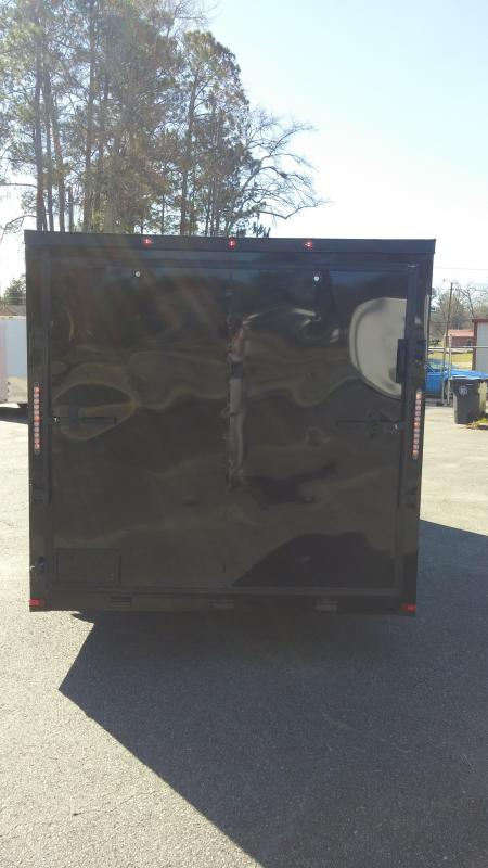 7 X 16 TA Motorcycle Trailer Blackout Pkg