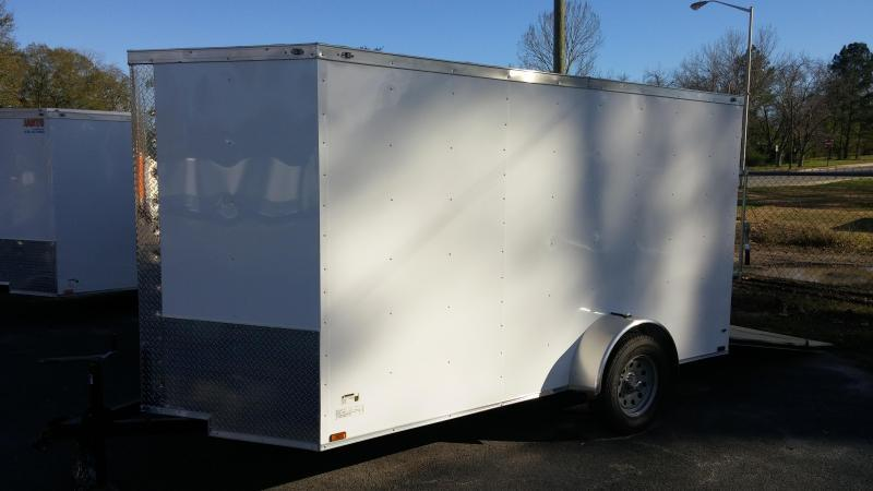 6 X 12 SA Enclosed Trailer w/ Ramp Door