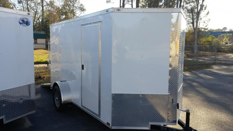 6 X 12 SA Enclosed Trailer w/ Ramp Door in Arlington, GA