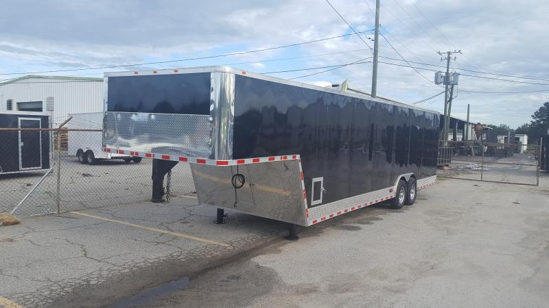 34 GN Enclosed Cargo Trailer in Putney, GA