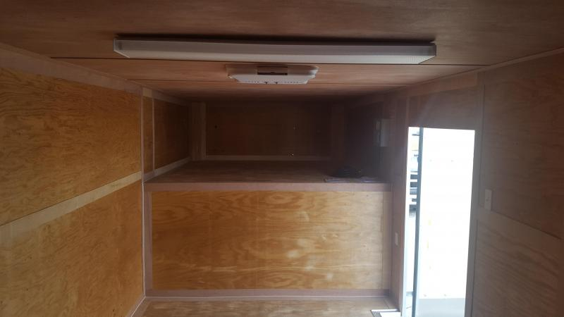 34 GN Enclosed Cargo Trailer