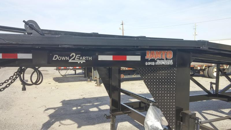 Down 2 Earth Trailers Wedge Equipment Trailer in Oglethorpe, GA