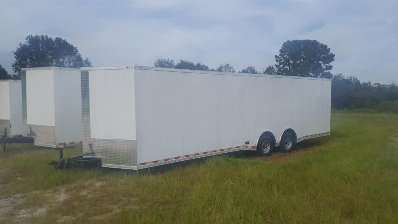 28 Spread Enclosed Cargo Trailer in Shellman, GA