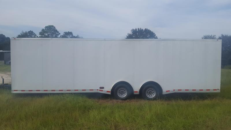 28 Spread Enclosed Cargo Trailer