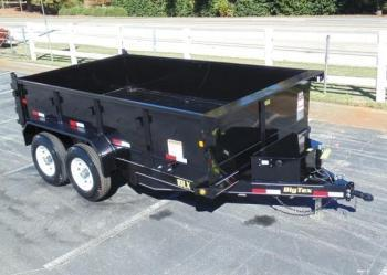 Btdt51 Dump Trailer 12 Foot 5 Ton 5200 Axles All Pro