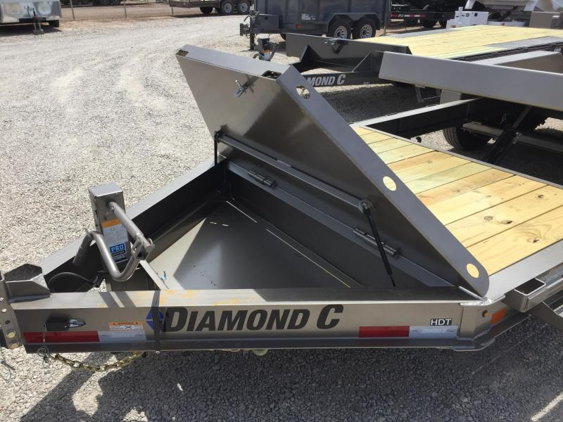 2018 Diamond C Trailers HDT-LPL 20x82 HYD Dampened Trailer