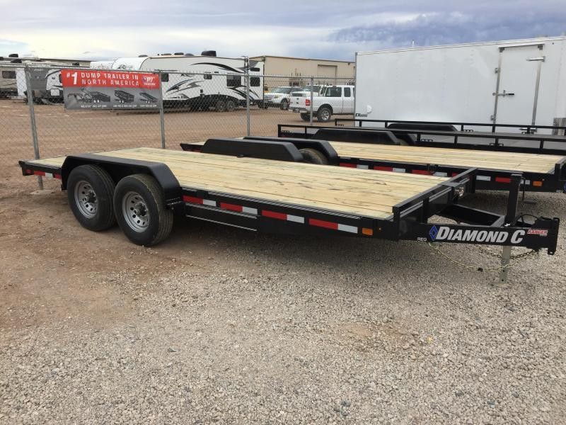 2019 Diamond C Trailers REQ 18X82 Equipment Trailer