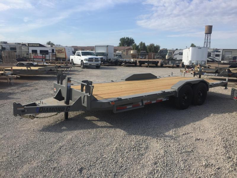 2020 Diamond C Trailers EQT 18X102 Equipment Trailer