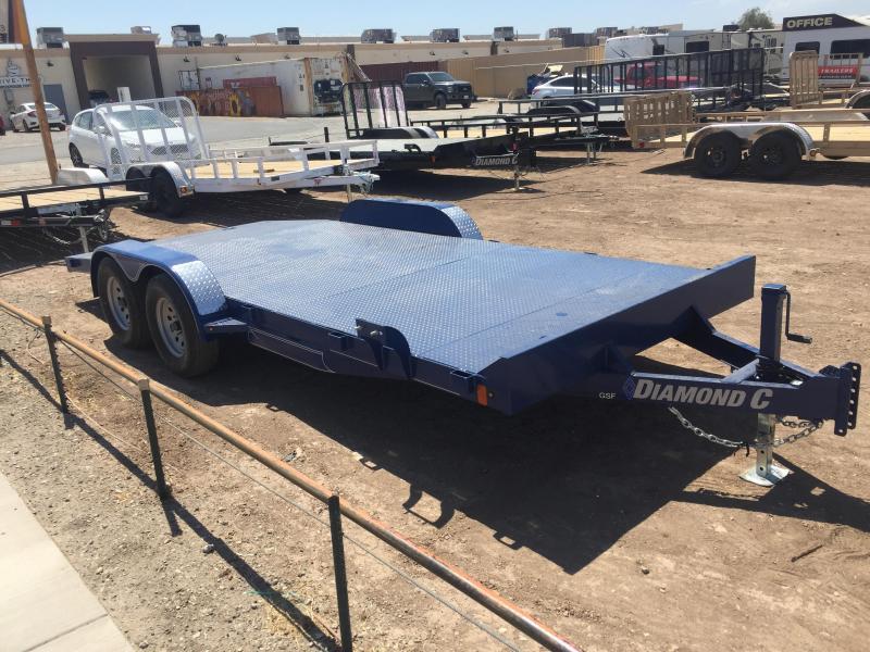 2019 Diamond C Trailers GSF 235 18X83 Car / Racing Trailer