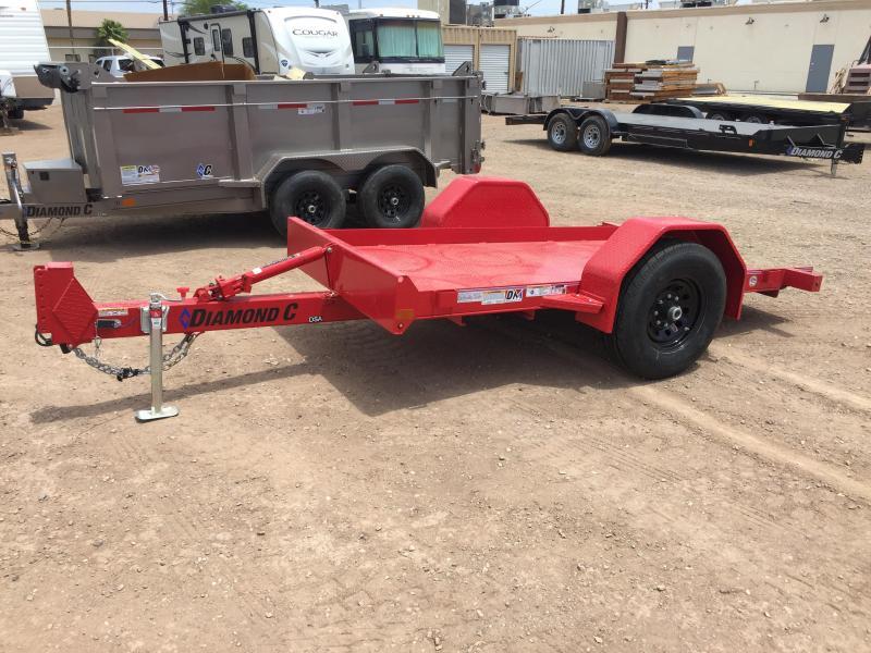 2020 Diamond C Trailers DSA12X77 Forklift Equipment Trailer