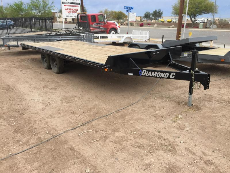 2019 Diamond C Trailers GDD 20X102 Equipment Trailer