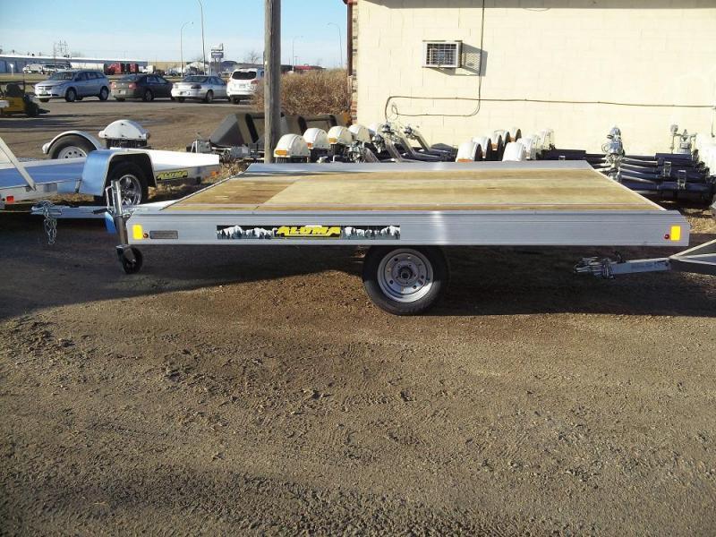 Car Dealerships In Grand Forks Nd >> 2020 Aluma 8612 Tilt Bed Snowmobile Trailer The Trailer
