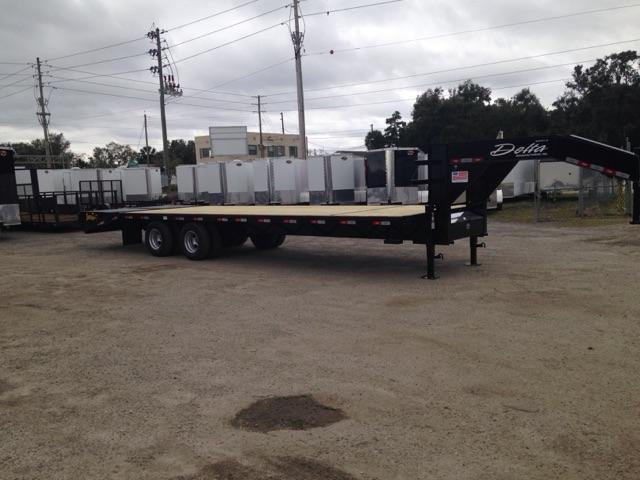 2019 Delta  210GN  10 ton Flatbed Equipment Trailer