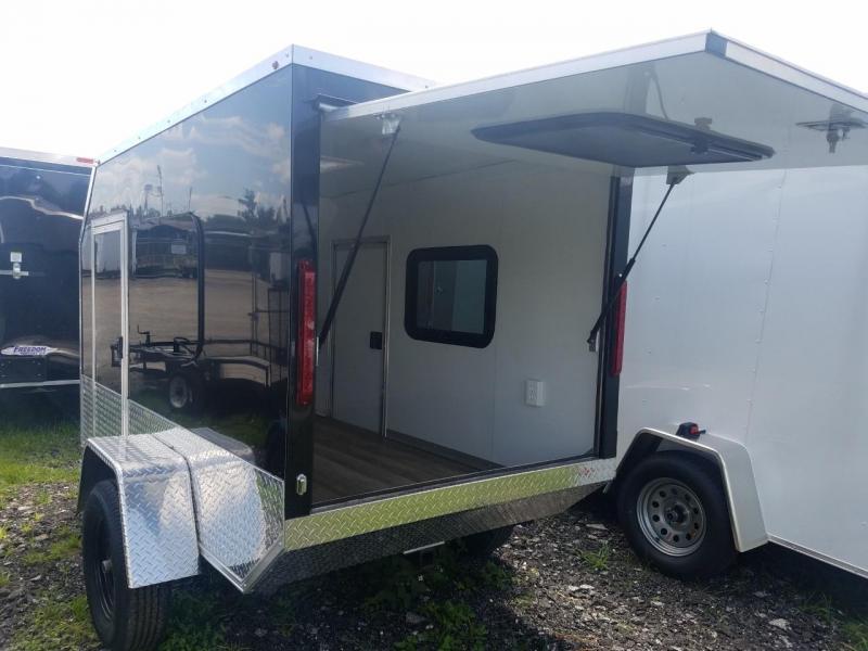2018 AMP Camper Enclosed Cargo Trailer