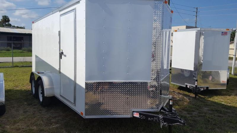 2018 Freedom 7 X 16 Enclosed Cargo Trailer (Commander Series)