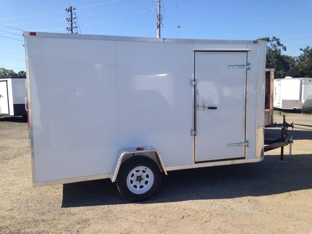 2019 6X12 AMP Single Axle CARGO TRAIELR