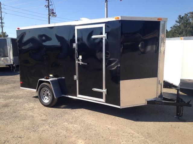 2019 6x12 Single Axle GENERAL SERIES Cargo Trailer