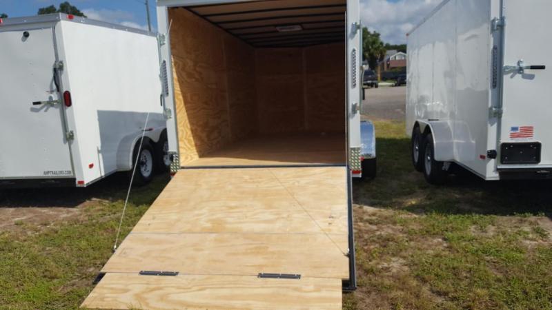 2019 6x12 Enclosed Cargo Trailer (Commander Series)