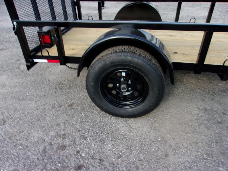 2019 AMP Trailers 5x8 Single Axle Utility Trailer