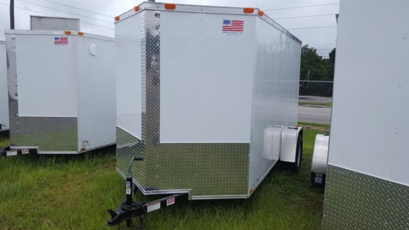 2018 Freedom Trailers 6x12 Enclosed Cargo Trailer