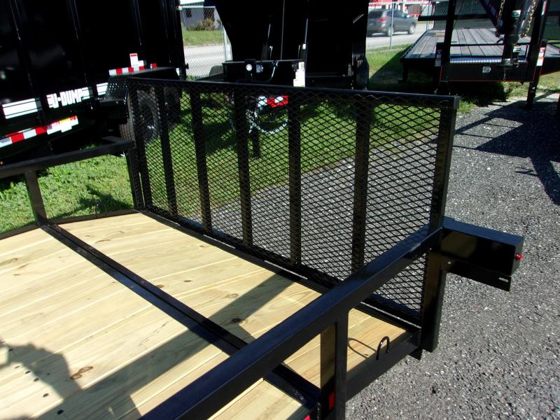 """2019 Down 2 Earth Trailers Down to Earth 76""""x12' Utility Trailer"""